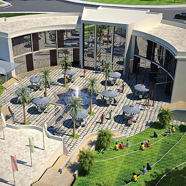 Shopping malls architectural designs banan architecture - Interior design schools in alabama ...