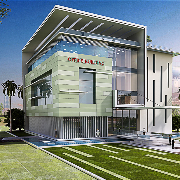 Offices and administration building architectural designs - Office building interior design ideas ...